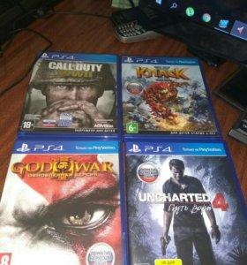 Продам игры для Sony PS4