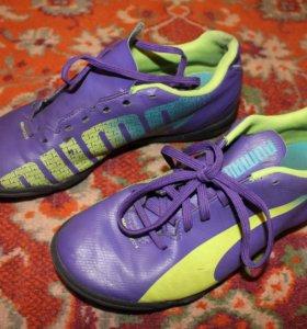 Кроссовки (бампы) футбольные Puma