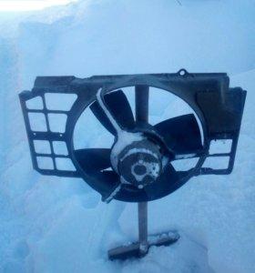 Вентилятор охлаждения на ауди 100