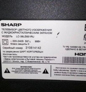 дисплей телевизора sharp aqous
