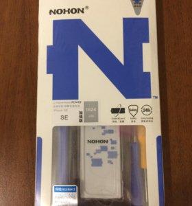Новая батарея на айфон SE
