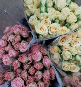 Кустовые розы доставка