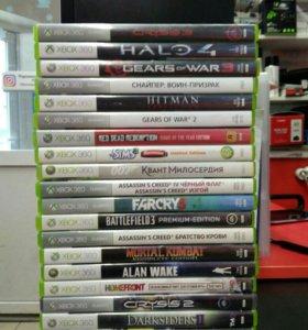 Диски Xbox 360