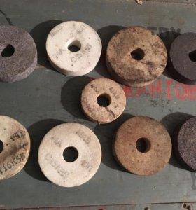 Точильные круги СССР толщина 2 см новые 10 штук