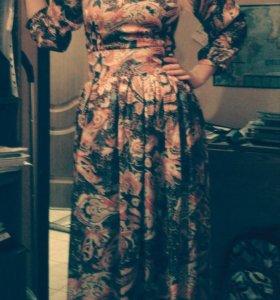 Платье макси, Lusio, размер s