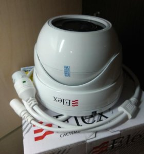 Новая большая антивандальная ip камера