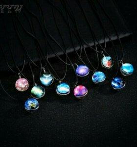 Светящийся в темноте кулон / ожерелье / подвеска