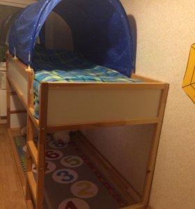 Кровать IKEA КЮРА