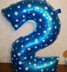 """Большая цифра на День Рождения """"2"""" или """"5"""""""