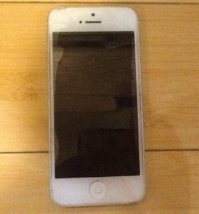 Сломаный айфон 5