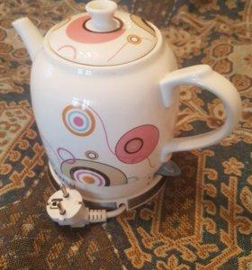 Чайник керамический электрический
