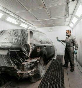 Кузовной ремонт, покраска,полировка, жидкая резина