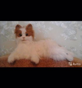 интерактивная кошка