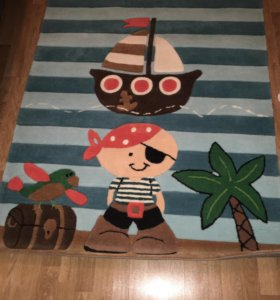 Новый ковёр для детской 110*160