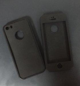 Двухсторонний чехол на iPhone 5/5s/5se