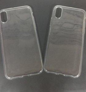 Силиконовый чехол на iPhone X