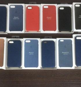 Кожаные чехлы на iPhone