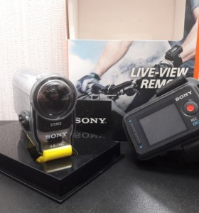 Экшн камера SONY hdr-as100vr