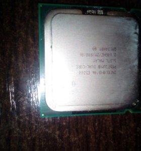 ОЗУ DDR2 (2шт), процессор Pentium, Мат.плата