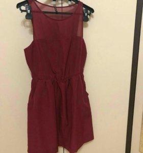 Бордовое платье ✨