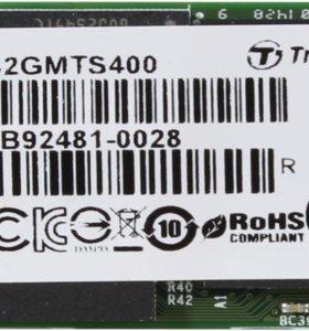 32 ГБ SSD M.2 накопитель Transcend MTS400