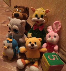 Все мягкие игрушки
