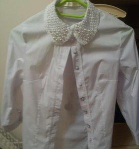 Кофта и блуза в школу