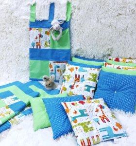 Бортики,вигвамы,Текстиль для детей