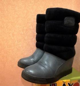 Ботинки зимние 37