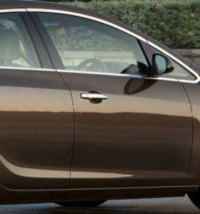 Накладки на дверные ручки Opel Аstra J