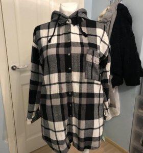 Рубашка платье Sinsay