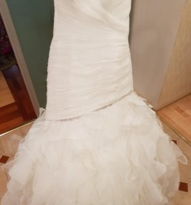 Свадебное платье 'рыбка'