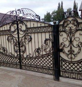 сварочные работы,ковка,ворота,и.тд