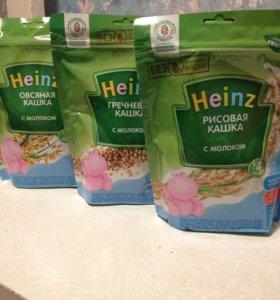Каша молочная Heinz