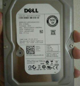 """HDD 500GB SATA 3.5"""" цена сегодня завтра повышаю"""