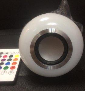 Лампочка Музыкальная LED(новая)