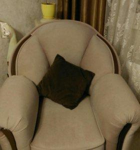 Диван кровать и кресло
