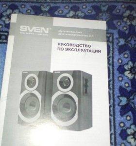 Колонки Sven