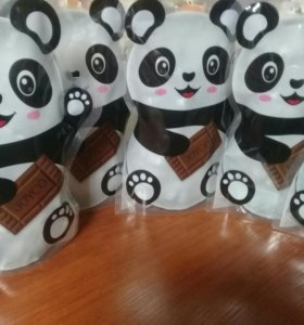 Шоколадные конфетки Панда драже на 14февраля