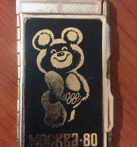 Блокнот Москва-80