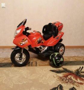Детский мотоцикл.