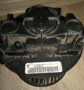 Мотор печки рено-логан Valeo