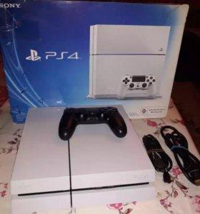 Sony PlayStation 4 500 gb + несколько игр.