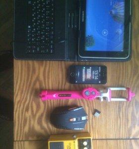Телефон,планшет(фон 4s,5s,планшет Самсунг таб 5