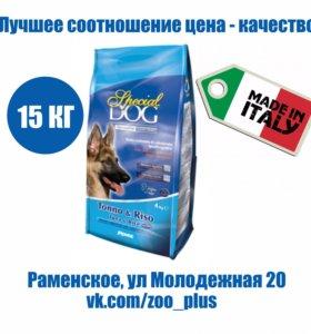 Special Dog дл собак чувствит. пищ. тунец/рис 15кг
