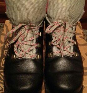Лыжные ботинки,нат.кожа, р.42