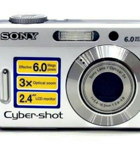 Фотоаппарат sony cyber-shot DSC-S500