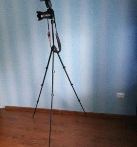 Canon 6D kit 24-105 L IS USM; вс-ка Canon 600EX-RT