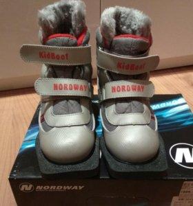 Лыжные ботинки на ребёнка