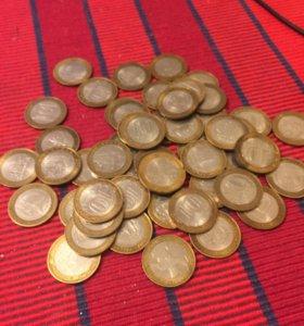 Биметалл 10 рублей